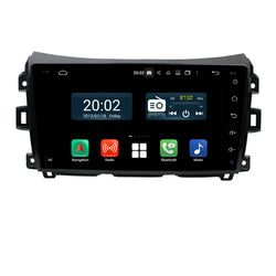 Android 10 2 Din 9 Inch 1024x600 Touchscreen Autoradio Headunit for Nissan Navara/NP300(2016-2020) right hand driving, Octa Core 1.5GB CPU 32GB Flash 4GB DDR3 RAM, Auto Radio GPS Navigation 3G 4G WIFI Bluetooth USB DSP Carplay&Auto Steering Wheel Control. 2Din Vehicle Touch Screen Multimedia Video Player System Head Unit.