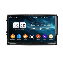 Android 9.0 DSP 9 Inch Full Touchscreen Car GPS for Volkswagen Magotan/Caddy/Passat/ Sagitar/Tiguan/Touran/CC/Polo, 4GB RAM+32GB ROM, Auto Stereo Headunit - foyotech