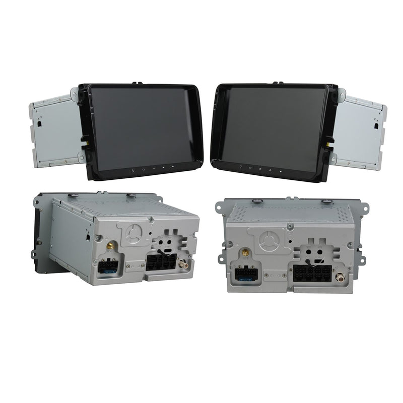 Autoradio Headunit for Volkswagen Magotan/Caddy/Passat/ Sagitar/Tiguan/Touran/Seat/CC/Polo(2006 2007 2008 2009 2010 2011 2012), 8 Core 1.5GB CPU 32GB Flash 4GB DDR3 RAM, Auto Radio GPS Navigation 3G 4G WIFI Bluetooth USB DSP Carplay&Auto Steering Wheel Control. Vehicle Touch Screen Multimedia Video Player System Head Unit.