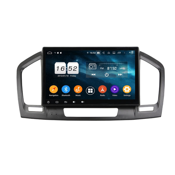 10.1 Inch Touchscreen Android 9.0 Auto Radio for Opel Insignia(2009-2012), 4GB RAM+32GB ROM, Car GPS Navigation DSP Bluetooth 4G WIFI - foyotech
