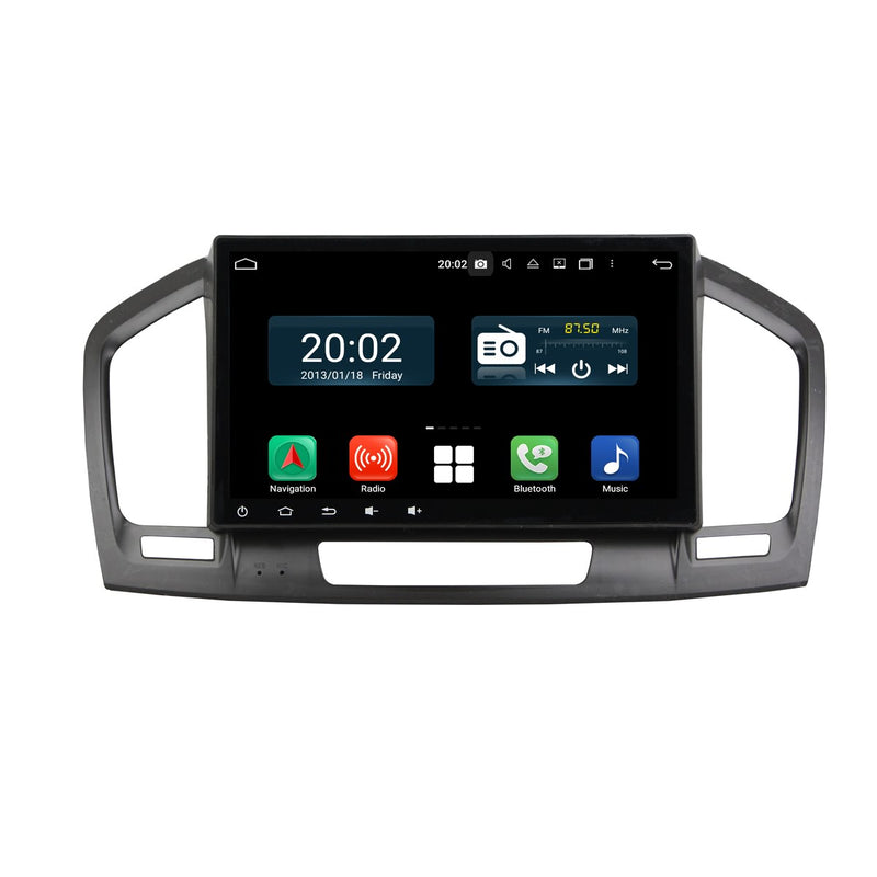 Android 10 Single Din 10.1 Inch 1024x600 Touchscreen Autoradio Headunit for Opel Insignia 2009 2010 2011 2012, Octa Core 1.5GB CPU 32GB Flash 4GB DDR3 RAM, Auto Stereo GPS Navigation 3G 4G WIFI Bluetooth USB DSP Carplay&Auto Steering Wheel Control. 1Din Vehicle Touch Screen Multimedia Video Player System Head Unit.