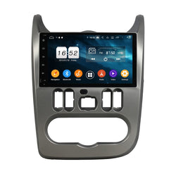 Android 9.0 Pie 9 Inch Touchscreen Car GPS Navigation for Renault Logan/Sandero/Duster(2009-2012), 4GB RAM+32GB ROM, Autoradio DSP Bluetooth 4G WIFI - foyotech