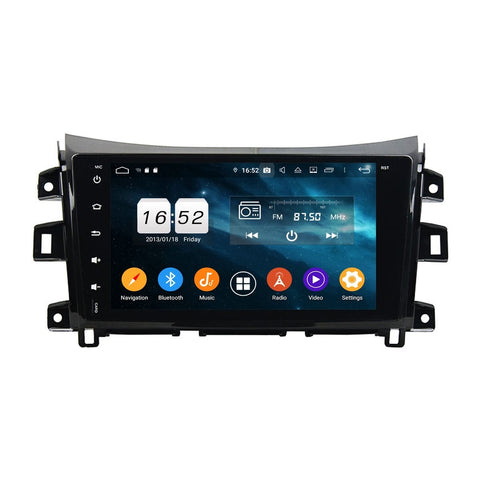Android 9.0 Car Radio for Nissan Navara/NP300(2016-2020) LHD, 9 Inch Touchscreen Auto Stereo GPS Navigation DSP Bluetooth 4G WIFI, 4GB RAM+32GB ROM - foyotech