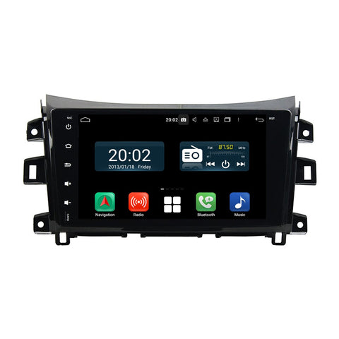 Android 10 2 Din 9 Inch 1024x600 Touchscreen Autoradio Headunit for Nissan Navara/NP300(2016-2020) left hand driving, Octa Core 1.5GB CPU 32GB Flash 4GB DDR3 RAM, Auto Radio GPS Navigation 3G 4G WIFI Bluetooth USB DSP Carplay&Auto Steering Wheel Control. 2Din Vehicle Touch Screen Multimedia Video Player System Head Unit.