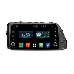 Android 10 1 Din 9 Inch 1024x600 Touchscreen Autoradio Headunit for Hyundai Verna 2018 2019 2020, Octa Core 1.5GB CPU 32GB Flash 4GB DDR3 RAM, Auto Radio GPS Navigation 3G 4G WIFI Bluetooth USB DSP Carplay&Auto Steering Wheel Control. 1Din Vehicle Touch Screen Multimedia Video Player System Head Unit.