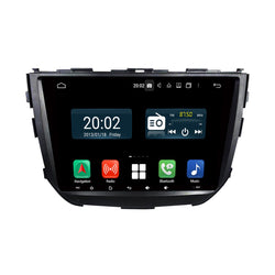 Android 10 1 Din 9 Inch 1024x600 Touchscreen Autoradio Headunit for Suzuki Vitara Brezza 2015 2016 2017 2018 2019 2020, Octa Core 1.5GB CPU 32GB Flash 4GB DDR3 RAM, Auto Radio GPS Navigation 3G 4G WIFI Bluetooth USB DSP Carplay&Auto Steering Wheel Control. 1Din Vehicle Touch Screen Multimedia Video Player System Head Unit.