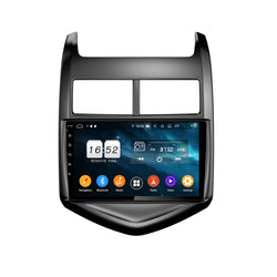 9 Inch Android 9.0 OS Car DSP Multimedia Player for Chevrolet Aveo(2011-2016), 4GB RAM+32GB ROM, Touchscreen Radio GPS Navigation Stereo Bluetooth 4G WIFI - foyotech