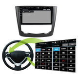 Android 10 Single Din 9 Inch Touchscreen Autoradio Headunit for Renault Kadjar 2016 2017 2018 2019, 8 Core 1.5GB CPU 32GB Flash 4GB DDR3 RAM, Auto Stereo GPS Navigation 3G 4G WIFI Bluetooth USB DSP Carplay&Auto Steering Wheel Control. 1Din Vehicle Touch Screen Multimedia Video Player System Head Unit.