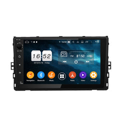 9 Inch Full Touchscreen DSP Android 9.0 Universal Car GPS for Volkswagen Series(2018-2019), 4GB RAM+32GB ROM, Auto Radio Stereo BT 4G WIFI Headunit - foyotech
