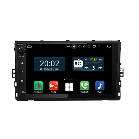 Android 10 Double Din 9 Inch 1024x600 Touchscreen Autoradio Headunit for VW series car model which was made in 2018 2019 2020, 8 Core 1.5GB CPU 32GB Flash 4GB DDR3 RAM, Auto Radio GPS Navigation 3G 4G WIFI Bluetooth USB DSP Carplay&Auto Steering Wheel Control. 2 Din Vehicle Touch Screen Multimedia Video Player System Head Unit