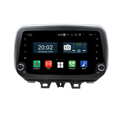 Android 10 Single Din 9 Inch Touchscreen Autoradio Headunit for Hyundai Tucson/IX35 2018 2019 2020, Octa Core 1.5GB CPU 32GB Flash 4GB DDR3 RAM, Auto Radio GPS Navigation 4G WIFI Bluetooth USB DSP Carplay&Auto Steering Wheel Control. 1Din Vehicle Touch Screen Multimedia Video Player System Head Unit.