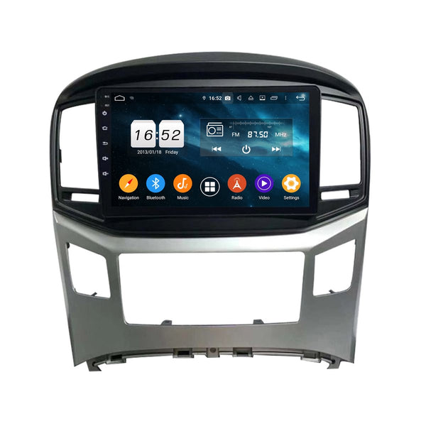 9 Inch Android 9.0 Car GPS Navigation for Hyundai H1(2016-2020), 4GB RAM+32GB ROM, Touchscreen DSP Stereo Radio Bluetooth 4G WIFI - foyotech