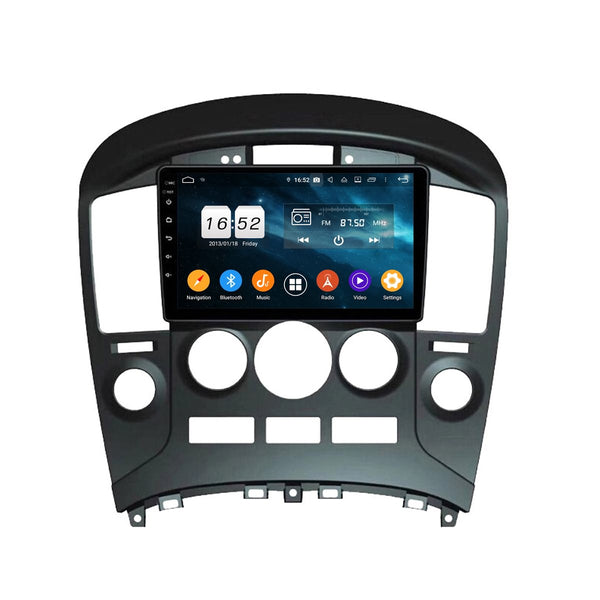 9 Inch Android 9.0 Car GPS Navigation for Hyundai H1/Starex/IMAX/ILOAD/I800(2006-2013), 4GB RAM+32GB ROM, Touchscreen DSP Stereo Radio Bluetooth 4G WIFI - foyotech
