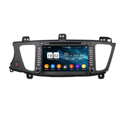 Android 9.0 OS 8 inch Touchscreen Car DVD Player for Kia K7/Cadenza(2009-2012), Octa Core 1.5G CPU 4G DDR3 RAM 32G Flash, Auto Radio GPS Navigation Bluetooth 4G WIFI OBDII MirrorLink Headunit - foyotech