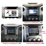 Android 9.0 OS 8 inch Touchscreen Car Stereo GPS Navigation for Toyota Sequoia/Tundra(2014-2020), Octa Core 1.5G CPU 4G DDR3 RAM 32G Flash, Auto Radio DVD Player Bluetooth 4G WIFI OBDII MirrorLink Headunit - foyotech