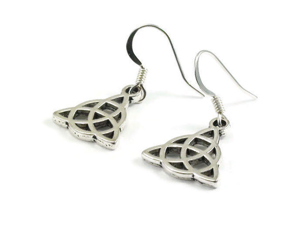 Celtic Knot Earrings Triquetra