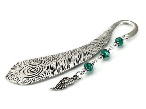 Peacock Feather Bookmark