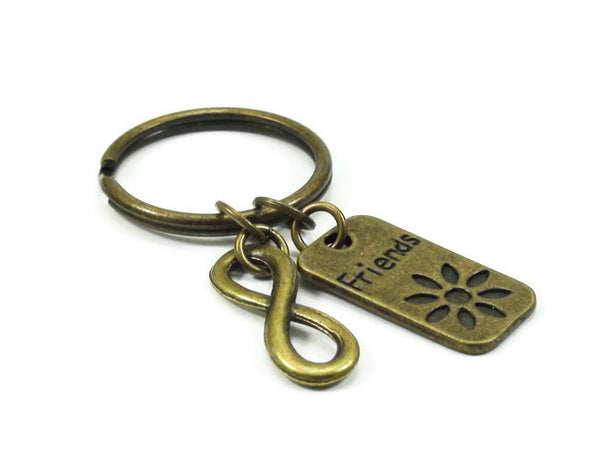 Infinity Best Friend Key Chain