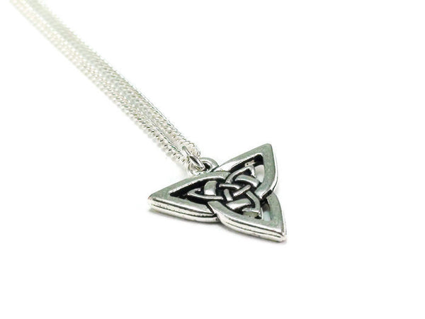 Triquetra Necklace, Celtic Knot