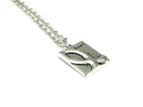 Ichthus Fish Hope Necklace, Ichthys