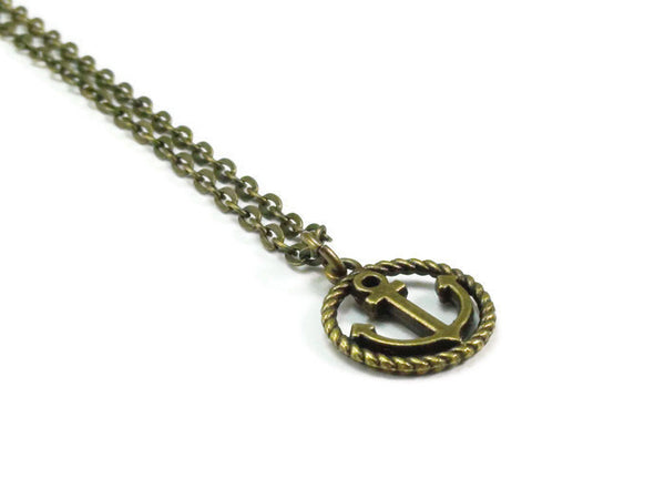 Anchor Necklace, Nautical Necklace