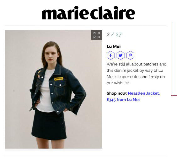 Marie Claire Online 2017