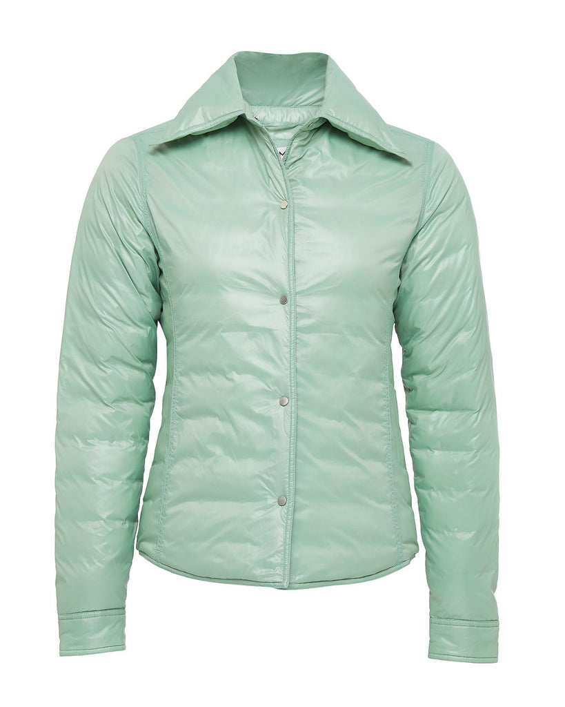 LU MEI LONDON Pentonville Shirt Down Jacket