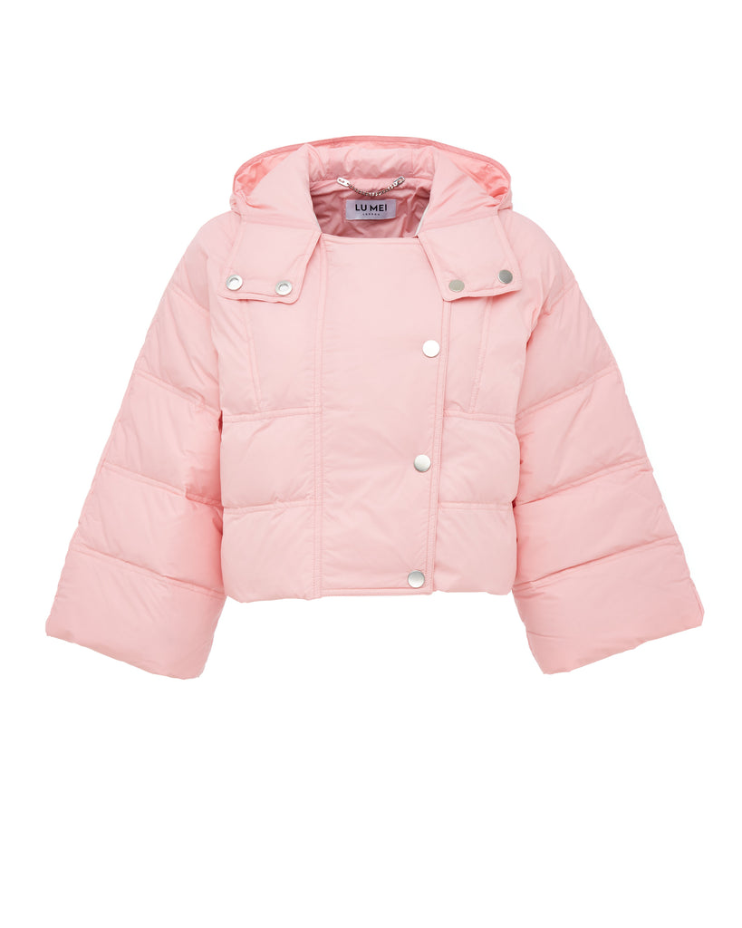 Lu Mei LONDON Coombe Crop Down Jacket