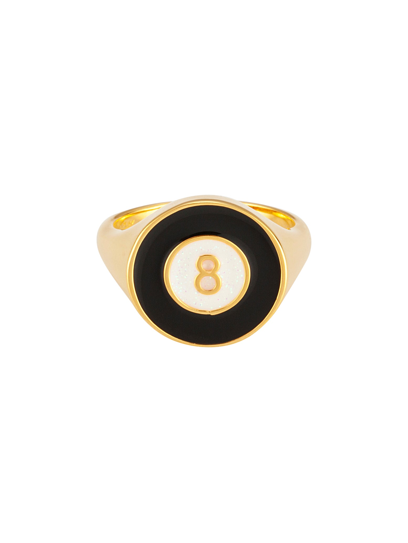 Lucky 8 Black Gold