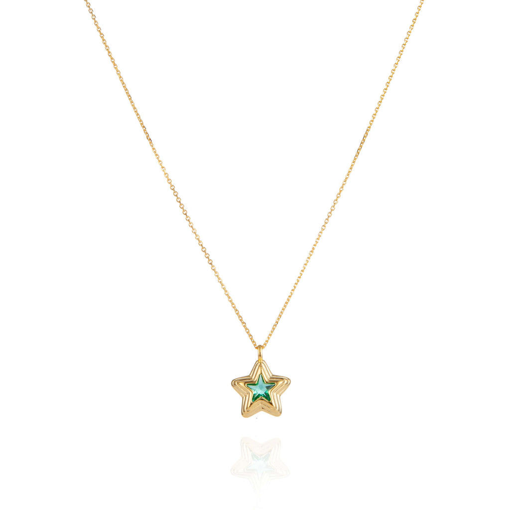 Starstruck Lime Necklace