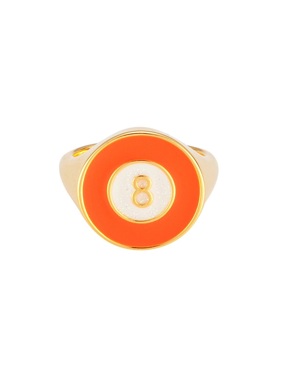 Lucky 8 Orange Gold