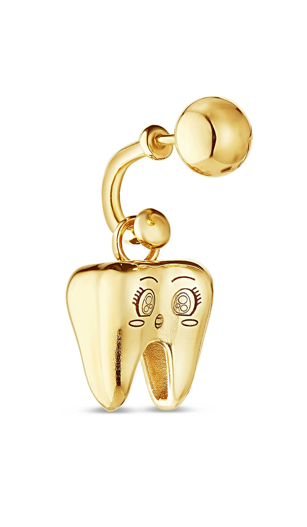 Kawaii Tooth Earring