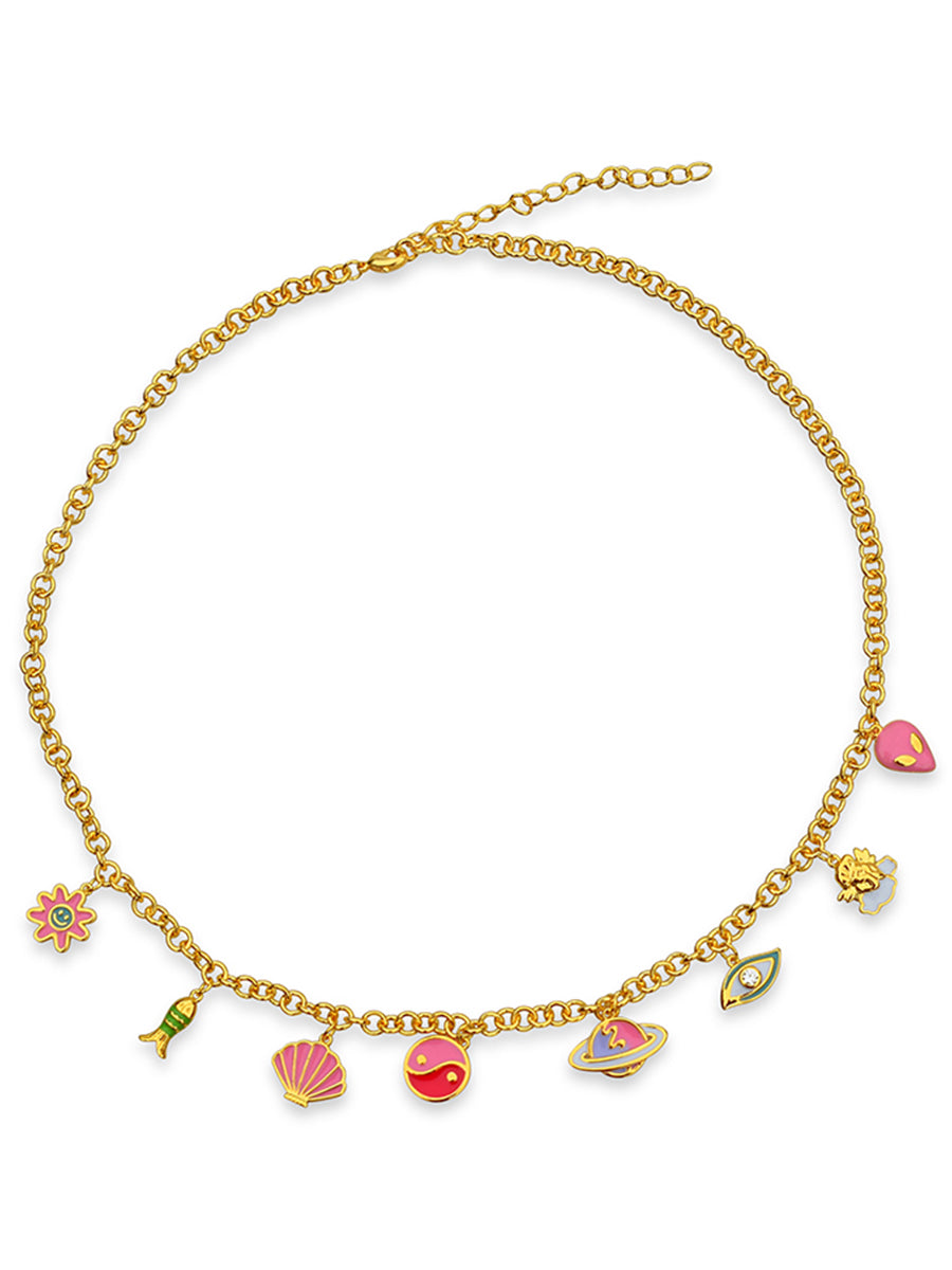 Ariel Cosmo Necklace