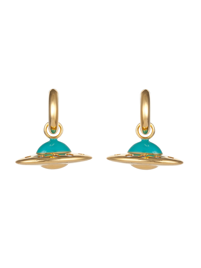 Flying Saucer Earrings