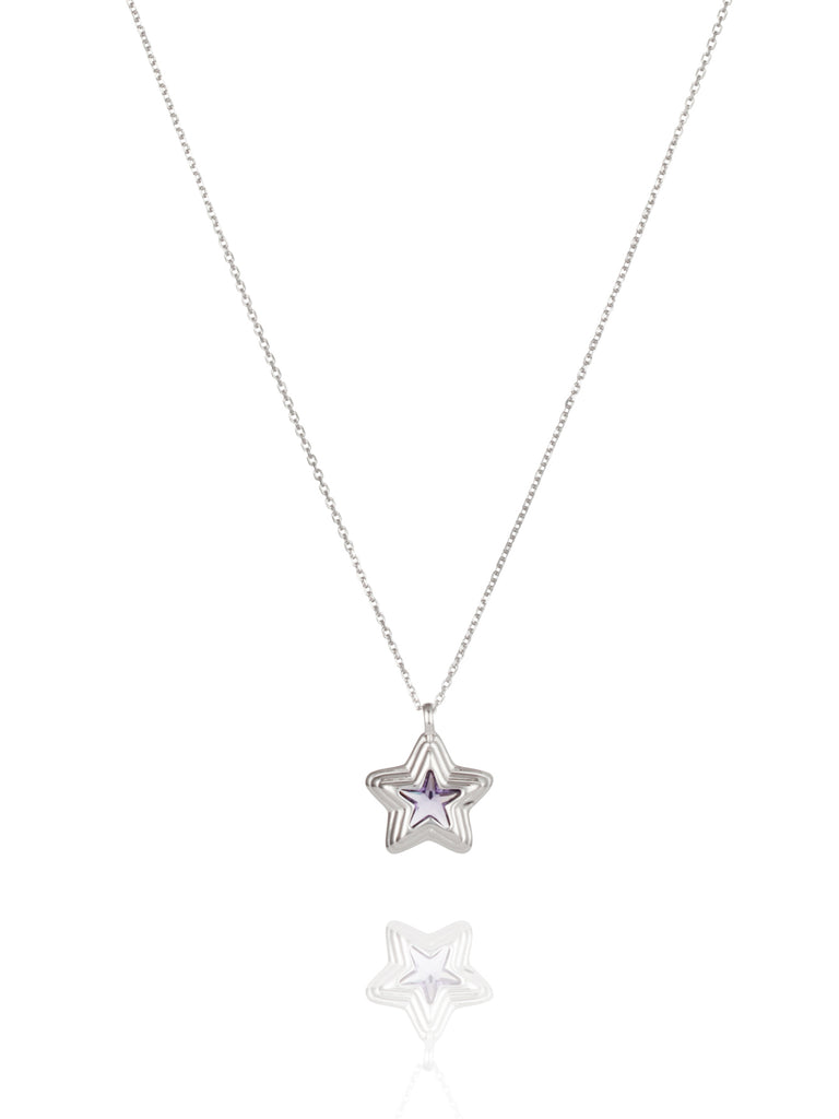 Starstruck Lilac Necklace