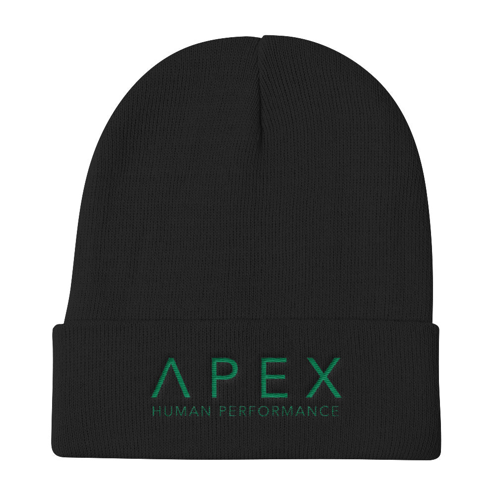APEX 2.0 Green Knit Beanie
