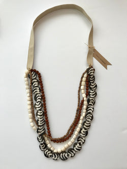 Four Strand Long Necklace