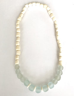 Cloud and Cream Necklace