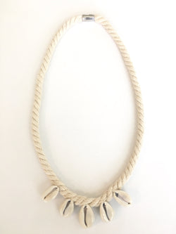 Cowrie Rope Necklace