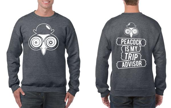Dr. Peacock - Your Trip Crew Neck Sweatshirt (Multiple Colours)