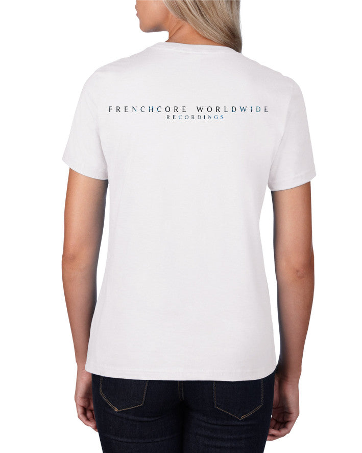 Frenchcore Worldwide - Ladies T-shirt (White)