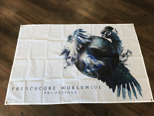 Frenchcore Worldwide - Flag