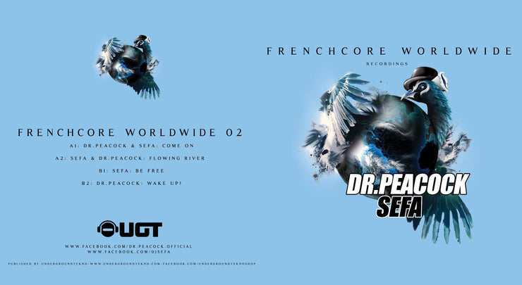 Frenchcore Worldwide 02 Vinyl
