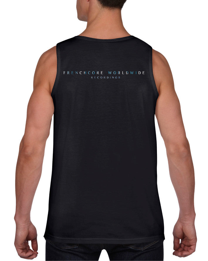 Frenchcore Worldwide Men Tanktop Black