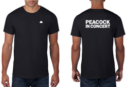 0 - Peacock In Concert T-shirt LIMITED EDITION