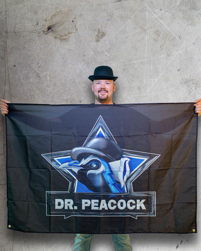 Dr. Peacock - Original flag