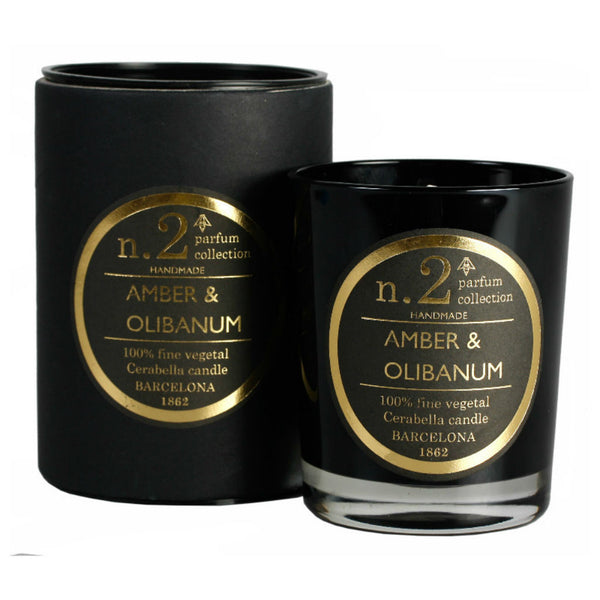 Amber and Frankincense scented candle at Wick Candle Boutique Brighton and Hove