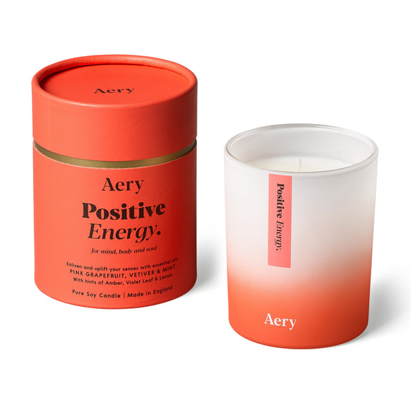 A Positive Energy ~ pink grapefruit, vetiver, mint