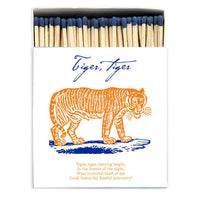 Luxury Oversized Matches ~ Tiger Tiger