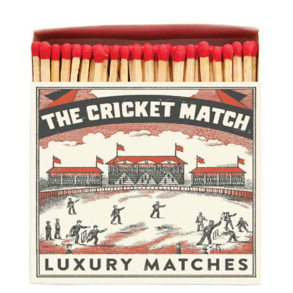 Large Oversized Luxury Safety Matches Cricket Match from Wick Candle Boutique